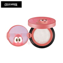 CELLEANSER Larva Pink Pure Sun Cushion SPF38 PA++ 14g  (for children) [LARVA Limited Edition]